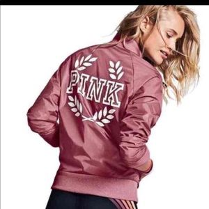 VS pink bomber jacket